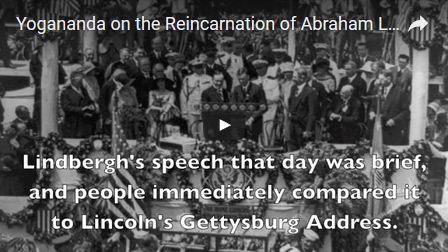 Yogananda on the Reincarnation of Abraham Lincoln