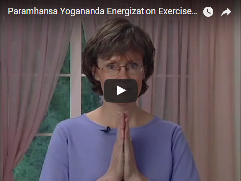 Paramhansa Yogananda Energization Exercises Introduction